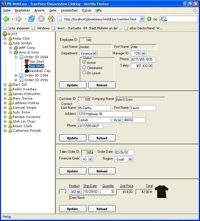 PB Web Easy - Beta Shots
